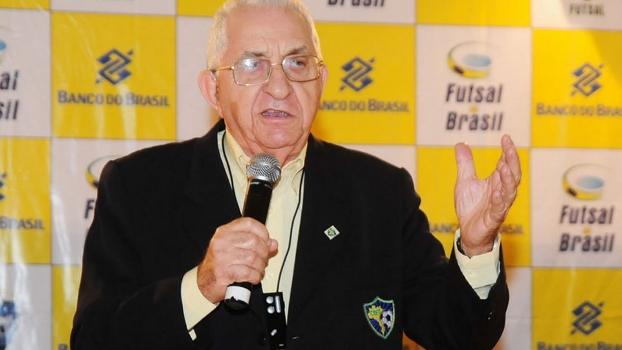 Aécio Borba Vasconcelos, presidente da CBFS desde 1979