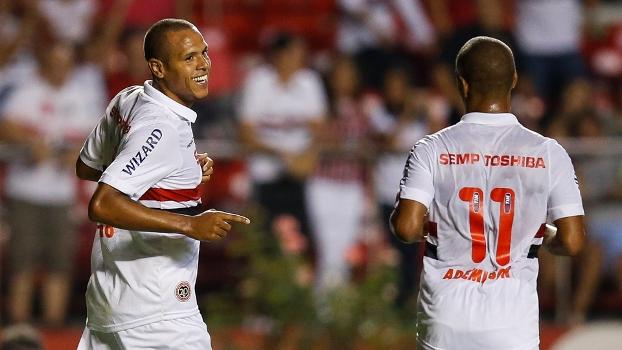Luis Fabiano espera 'jogo de verdade' contra o Palmeiras