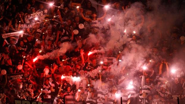 A torcida do Corinthians na cidade de São Paulo conta com mais de 4 milhões de pessoas