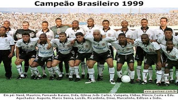 Corinthians de 1999: há quinze anos, o ataque dominava o Brasileirão