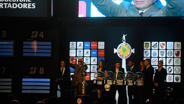 Grupos da Libertadores 2014 foram sorteados nesta quinta-feira