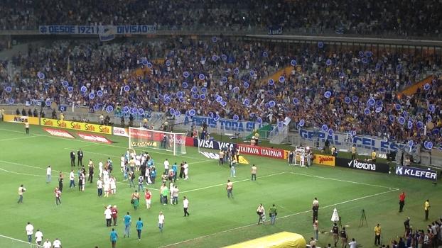 Cruzeiro Comemora Tetra Campeonato Brasileiro Torcida Mineirão 27/11/2014