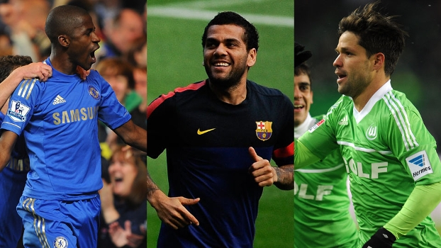 Ramires, Daniel Alves ou Diego? Quem foi o destaque brasileiro no futebol internacional na última semana?