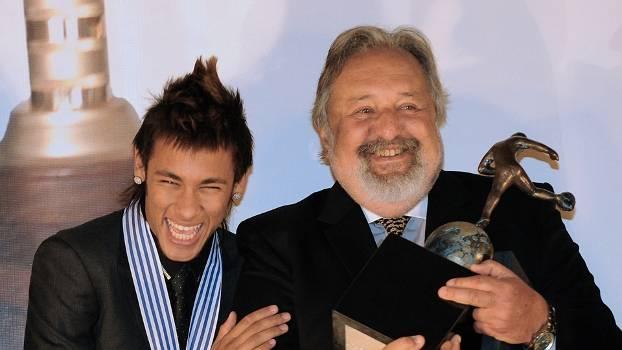 Neymar e Luis Álvaro em 2012