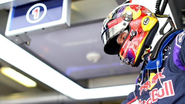 Sebastian Vettel está incomodado com temporada abaixo das expectativas