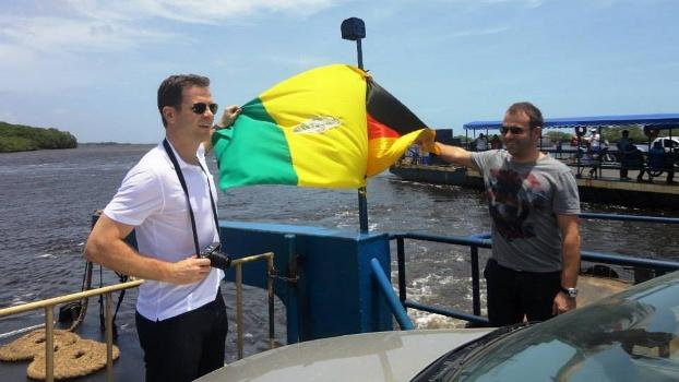 O diretor geral da federação alemã, Olivier Bierhoff, esteve cinco vezes em Cabrália