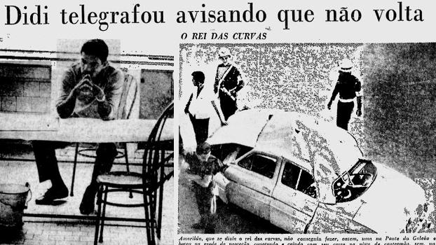 Jornais mostram as 'peripécias' do Botafogo em sua 1ª Libertadores: o telegrama de Didi, a lesão de Garrincha e o carro capotado de Amarildo