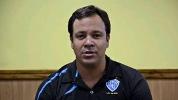 Dado Cavalcanti é apresentado oficialmente no Paysandu