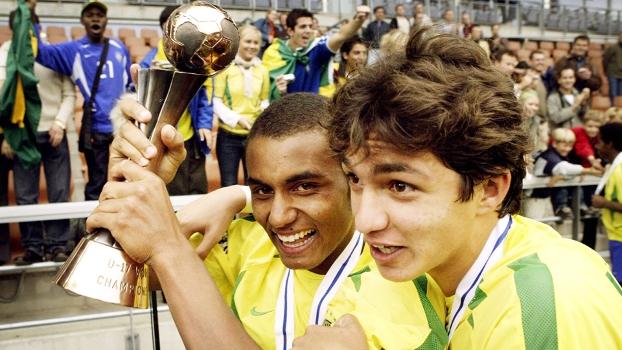 Juliano Comemora Título Mundial Sub-17 Brasil Espanha 30/08/2003