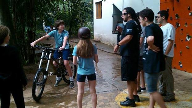 Personal trainer, o ciclista espalhava o amor pela bike com os alunos