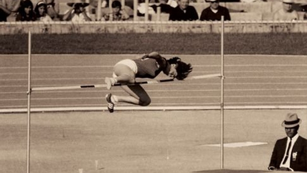 Miloslava Rezkova durante Jogos Olímpicos de 1968