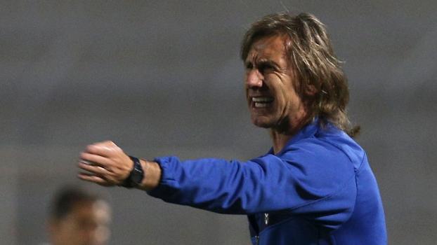 Ricardo Gareca comanda o Vélez Sarsfield na Copa Sul-Americana contra a Ponte Preta