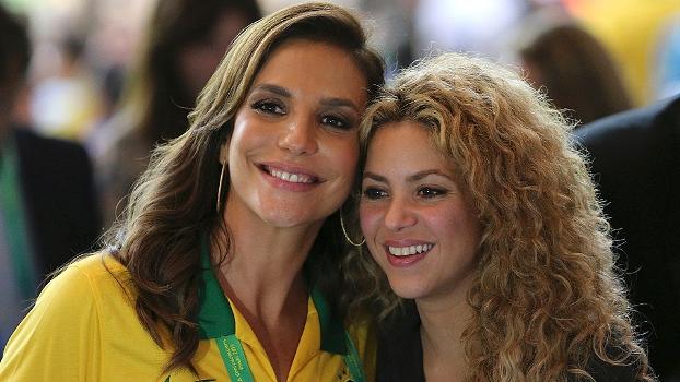 Ivete Sangalo e Shakira estarão presentes na festa de encerramento da Copa do Mundo