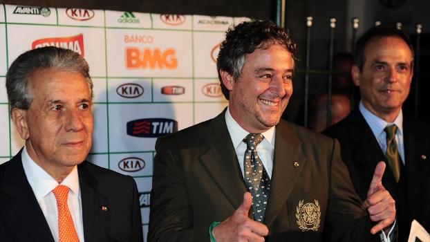 Paulo Nobre foi eleito o novo presidente do Palmeiras