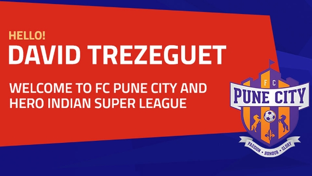 Indian Super League dá as boas-vindas a Trezeguet, reforço do FC Pune City