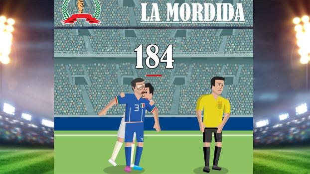 Mordida de Suárez em Chiellini virou até jogo na internet