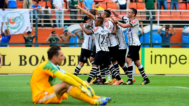 Danilo marcou o gol de empate do Corinthians aos 46 minutos do segundo tempo
