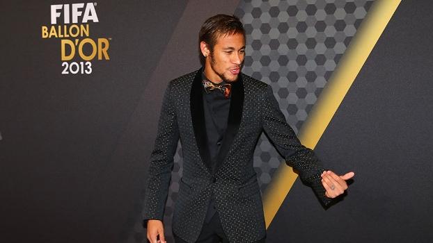 Neymar recebeu 65 votos ao todo para ficar entre os três melhores do mundo