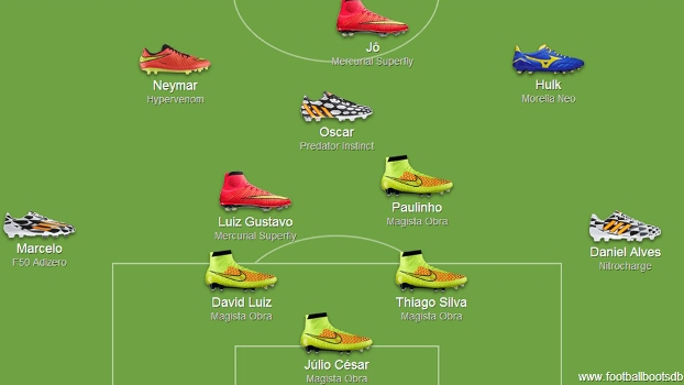 Site comete um equívoco no possível time titular do Brasil ao colocar Jô no lugar de Fred