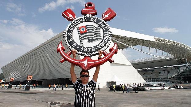 COL aprovou o teste deste domingo na Arena Corinthians
