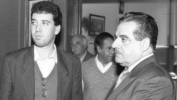 Futebol Eduardo José Farah (dir.) Presidente da FPF Marcelo Teixeira Pres. do Santos Novembro 06/08/92
