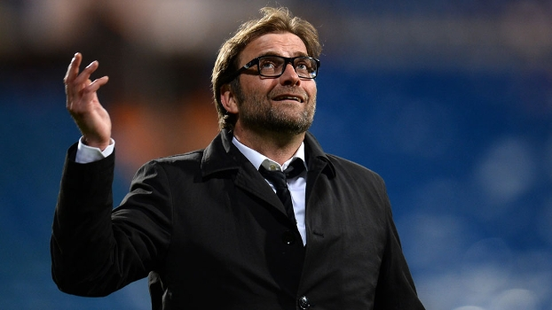 Jurgen Klopp era só alegria com a classificação do Borussia Dortmund à final da Champions