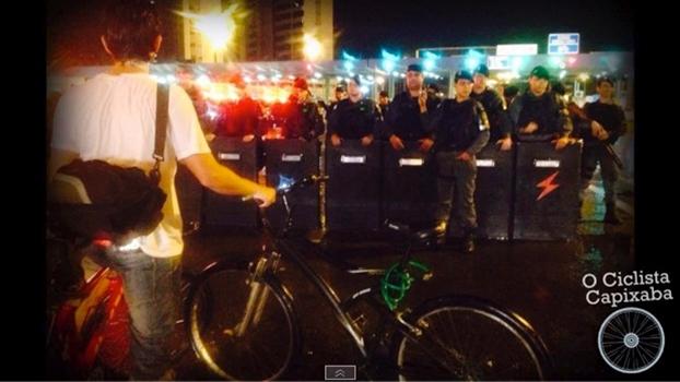 Ciclistas querem ciclovia na Terceira Ponte, em Vitória (ES)