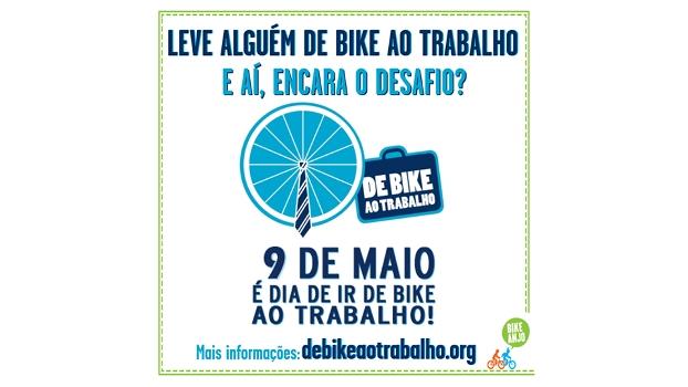 9 de Maio é o dia De Bike ao Trabalho