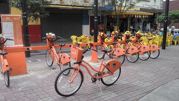 Sistema terá 40 estações e 400 bikes até o fim de 2014