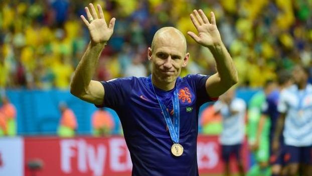 Robben foi um dos principais jogadores da Holanda na Copa do Mundo