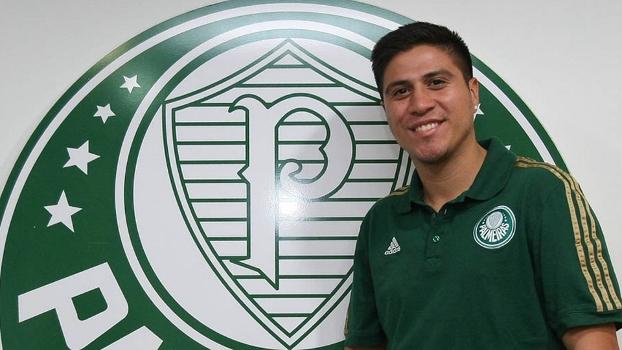 Cristaldo é novo reforço do Palmeiras para temporada