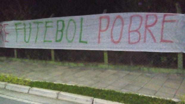 Torcedores estão insatisfeitos com atuações recentes do Palmeiras