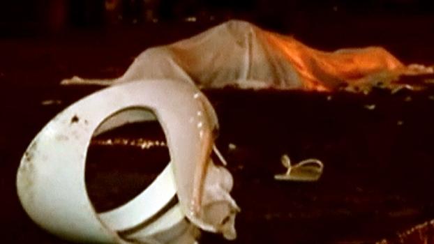 Polícia investiga morte de torcedor que foi atingido por privada; veja imagens