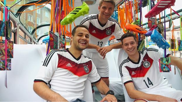O novo uniforme da seleção alemã foi divulgado nesta terça-feira