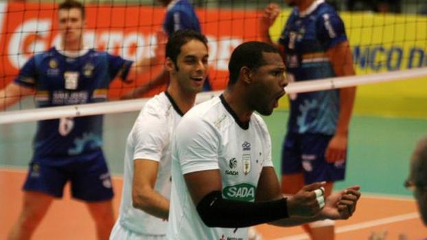 Sada Cruzeiro conseguiu uma boa vitória nesta quinta-feira