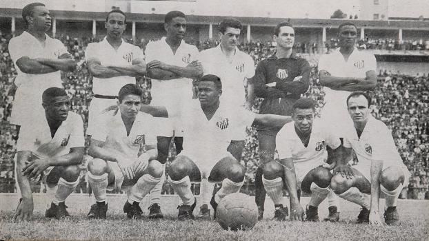 Time do Santos bi campeão do Mundial de Clubes