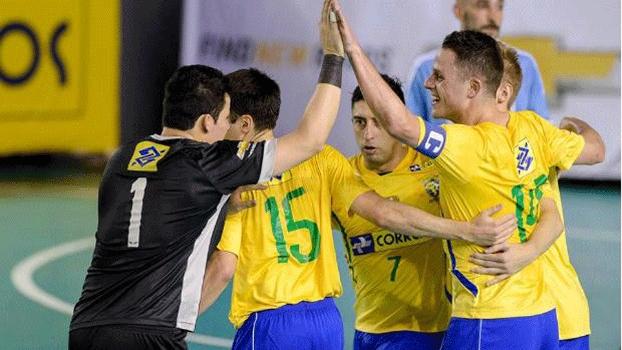 Brasil derrotou a Argentina por 11 a 1
