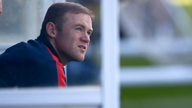Wayne Rooney, durante treino da seleção inglesa