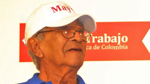Antonio Rada, ex-jogador colombiano e que participou de uma Copa do Mundo
