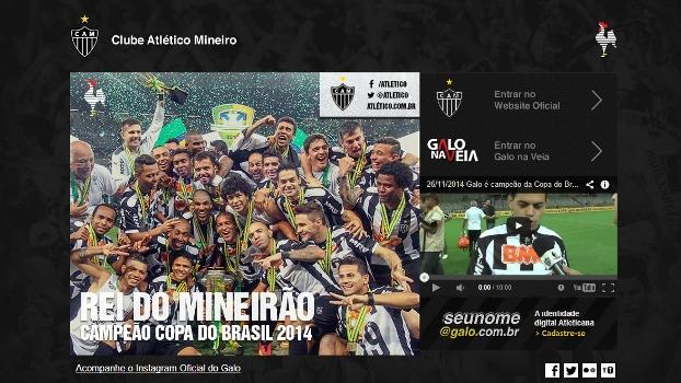 Atlético-MG Rei do Mineirão Site Oficial Copa do Brasil 27/11/2014