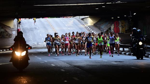 A brasileira Joziane Cardoso terminou a prova feminina em oitavo lugar