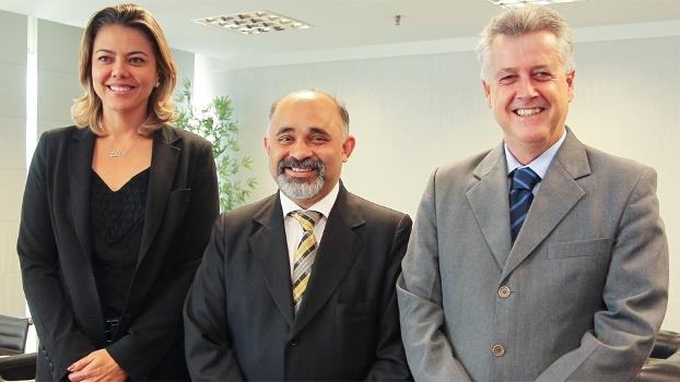 Ministro do Esporte se encontrou com Rollemberg e Leila (secretário do esporte do DF)