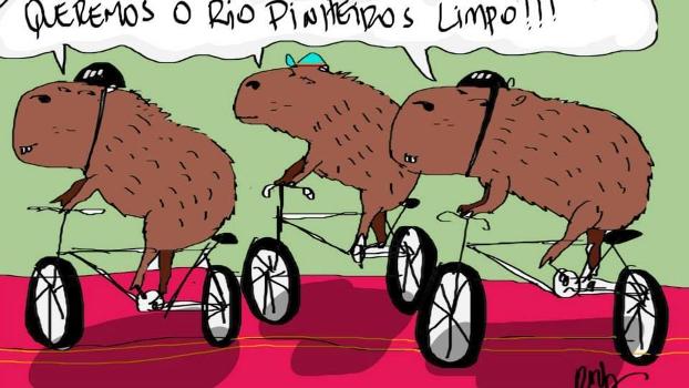 Queremos o Rio Pinheiros limpo, por Rey Berto