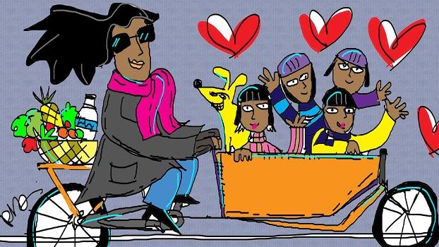 Feliz Dia das Mães, por Reynaldo Berto