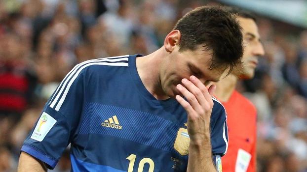 Messi foi escolhido o melhor jogador do Mundial