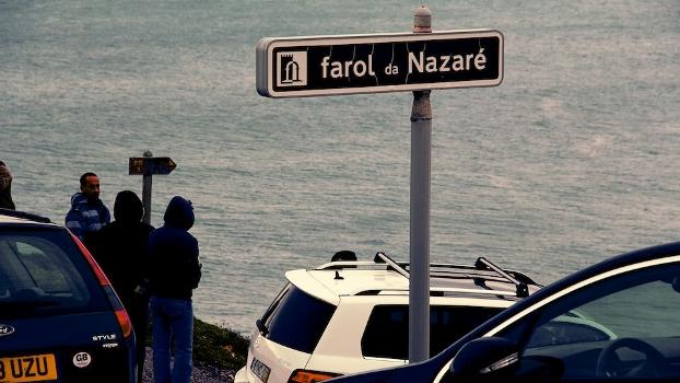 Do Farol de Nazaré é possível observar as ondas
