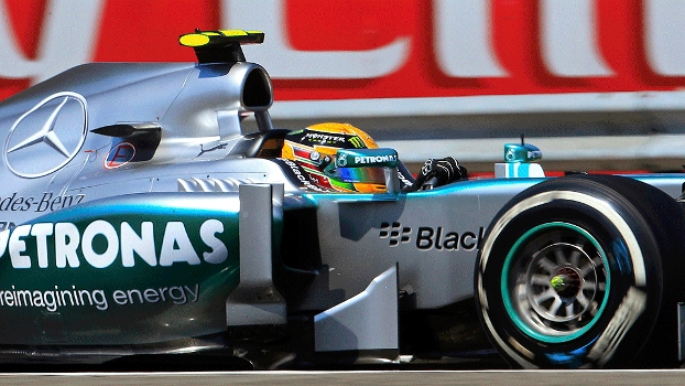 Fórmula 1 Hamilton Mercedes Corrida Budapeste Hungria 28/07/13