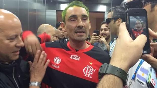 Argentino Bebote Álvarez foi detido em Brasília com a camisa do Flamengo