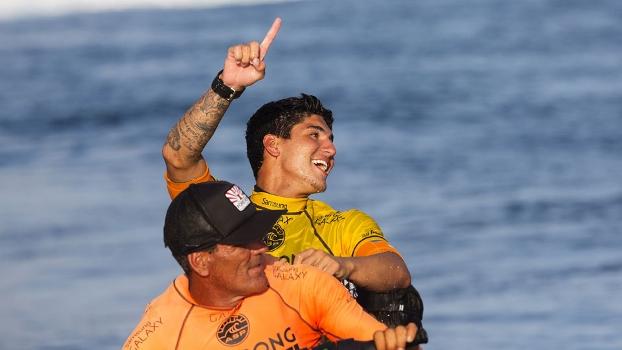 Gabriel Medina teve 3 vitórias no WCT deste ano até o momento