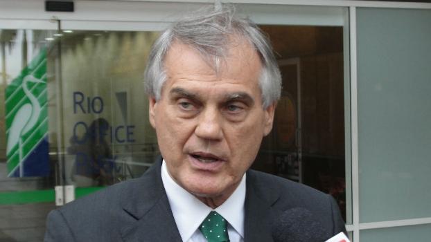 Vilson Ribeiro de Andrade, presidente do Coritiba, clube que concentra o levantamento